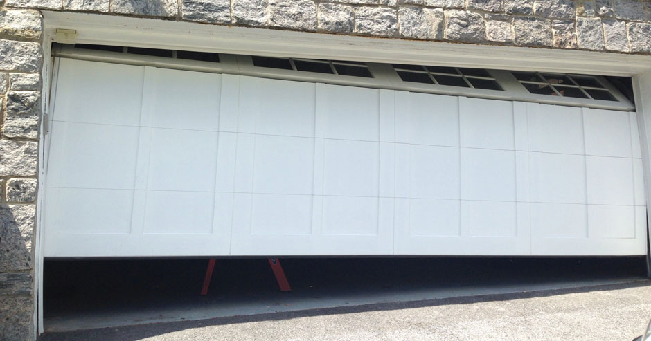 Broken garage door repairs Greenwich
